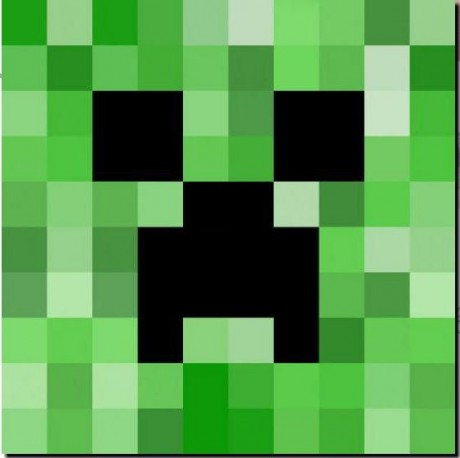 How To Draw Creeper Face page 2